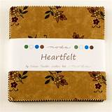 Moda Charm pack HEARTFELT from Kansas Troubles Quilters 42