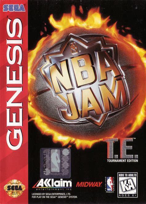 NBA Jam Tournament Edition - Sega Genesis (SG) ROM - Download