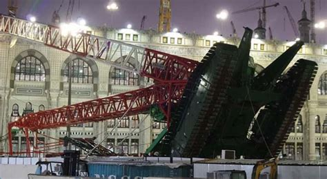 At Least 107 Killed As Crane Crashes Into Mecca's Grand ...
