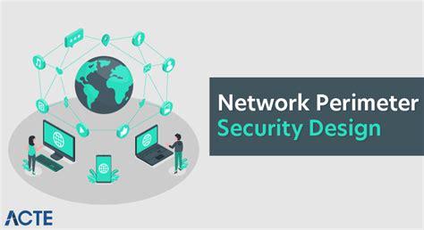 Network Perimeter Security Design - Comprehensive Guide