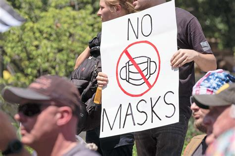 'It's a hoax,' cries anti-mask proponents | COVID-19 WATCH ...