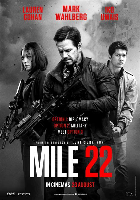 """Intense And Explosive Film """"Mile 22"""" Opens In Cinemas On ..."""