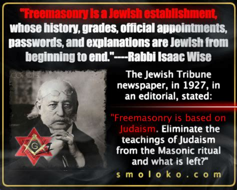 OCCULT FORCES: OUR ONGOING STRUGGLE WITH FREEMASONRY - Jew ...