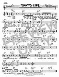 That's Life | Sheet Music Direct
