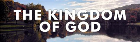 The Kingdom of God - Search for Me MinistriesSearch for Me ...