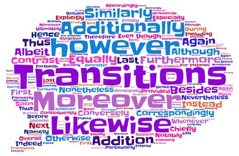 How to Use Transition Words in Academic Writings ...