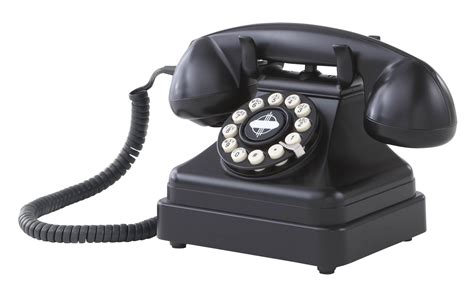 Crosley CR62-BK Kettle Classic Desk Phone with Push Button ...
