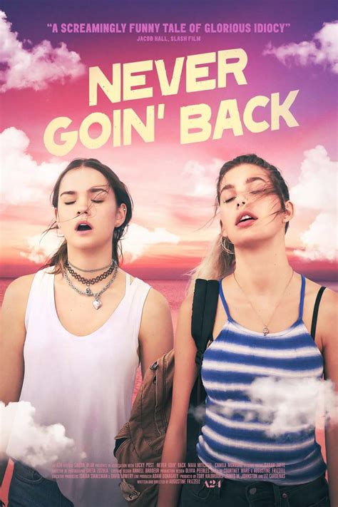 Never Goin' Back DVD Release Date October 30, 2018