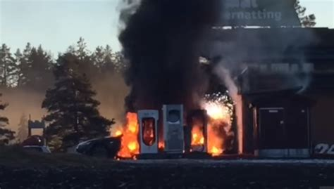 Tesla Model S fire not caused by Supercharger – Video | DPCcars