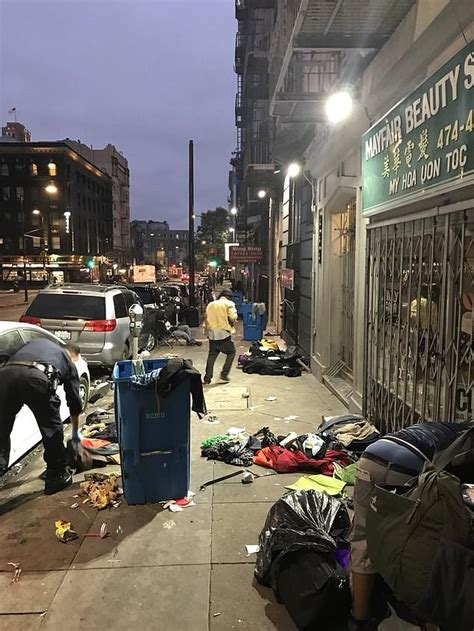 Welcome to San Francisco's dirtiest block | Daily Mail Online