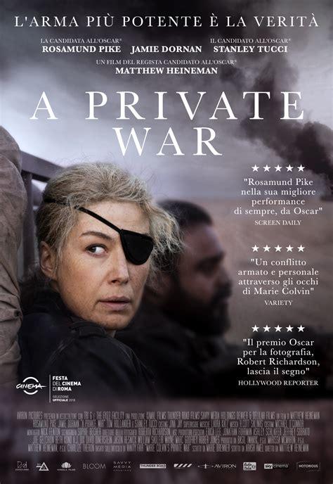 A Private War - 2018 - Recensione Film, Trama, trailer ...