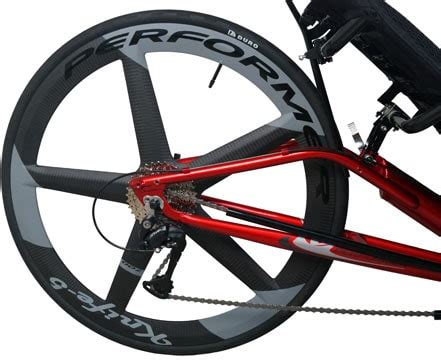 JC-70 with Carbon Wheels - MetaBikes and Performer