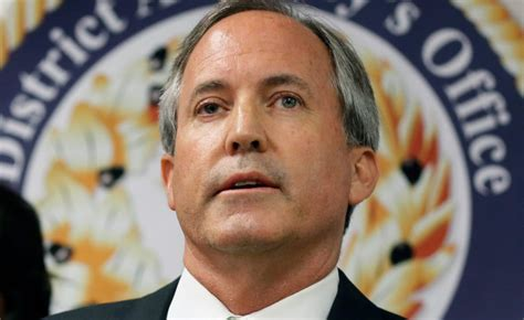 Ken Paxton Wants 'Ultimate Home Field Advantage' in Felony ...