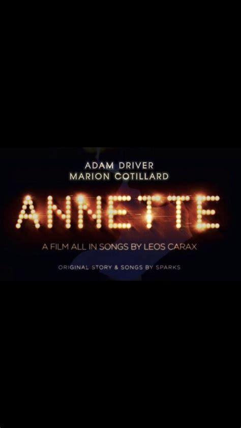 Annette Movie Poster - #587493