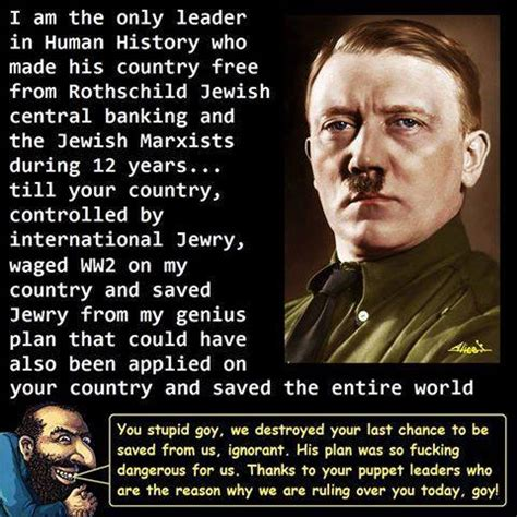 10 REASONS WHY HITLER WAS ONE OF THE GOOD GUYS - Jew World ...