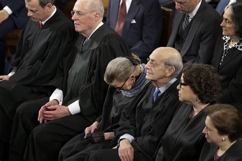 """Ginsburg confession: She wasn't """"100 percent sober"""" when she fell asleep at State of the Union ..."""
