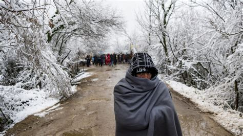 Snow Worsens Migrant Plight in Squalid Bosnian Camp ...