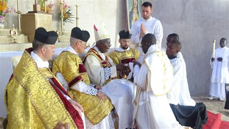 An Ordination in Nigeria - Priestly Fraternity of St. Peter