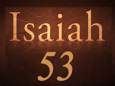 WIT Talmidim - The Suffering Servant of Isaiah 53 - Wisdom ...
