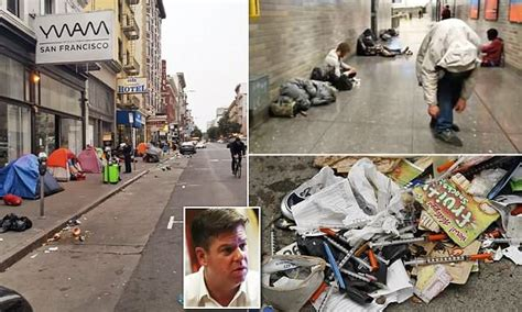 San Francisco fed up with dirty, smelly streets | Daily Mail Online