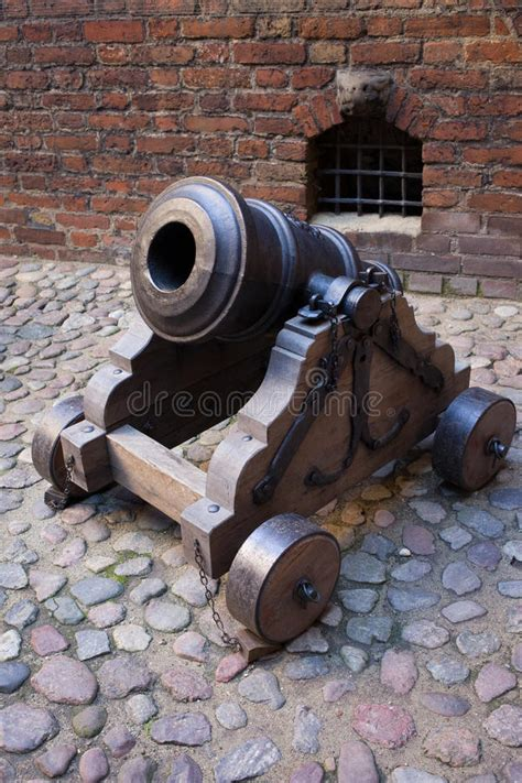 Medieval Mortar Cannon stock image. Image of military ...
