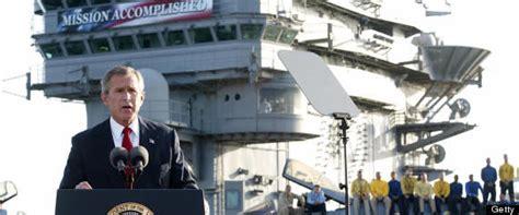 Mark Carney Mocks George Bush's Iraq War 'Mission Accomplished' Banner   HuffPost UK