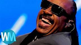 Top 10 Best Stevie Wonder Songs - YouTube
