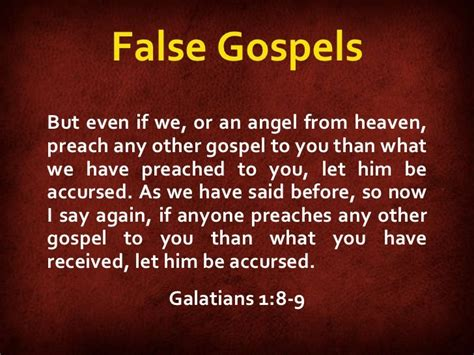 Study #1 - No Other Gospel - CHANGEMINISTRY