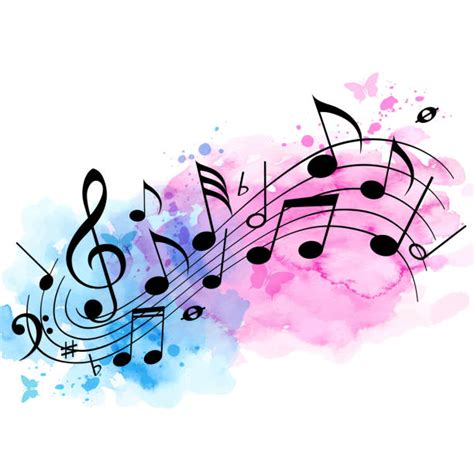 Music Notes Illustrations, Royalty-Free Vector Graphics ...