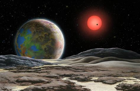 Gliese 581 C Planet And Star Photograph by Lynette Cook ...