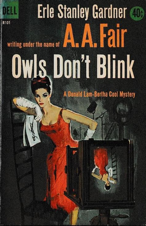 Cover art by Mort Engel OWLS DON'T BLINK by Fair, A.A.: (Over 30 books by this author available ...