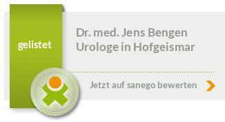 Dr. med. Jens Bengen in 34369 Hofgeismar, Facharzt für ...