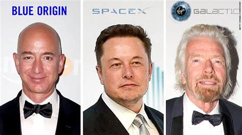 Branson! Musk! Bezos! The billionaire space race throwdown