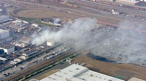 Fire near Tesla factory in Fremont, California - Business Insider