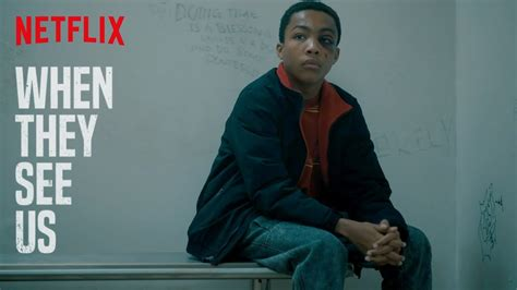 When They See Us 'Holding Cell Scene' | Netflix - YouTube