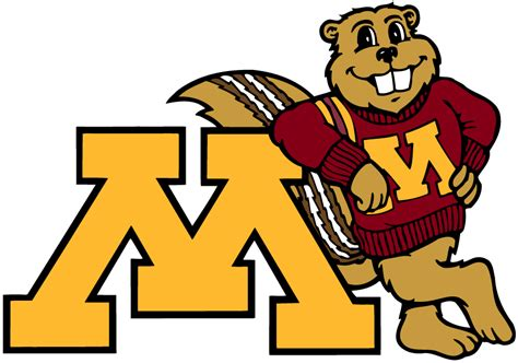 Minnesota Golden Gophers Mascot Logo - NCAA Division I (i ...