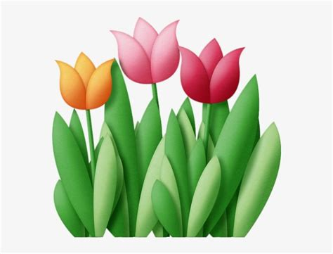 Easter Flower Clip Art - samplesofpaystubs.com
