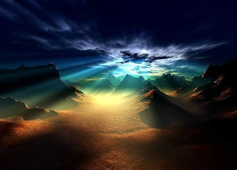 God's Mystical Landscapes - God-The creator Photo ...