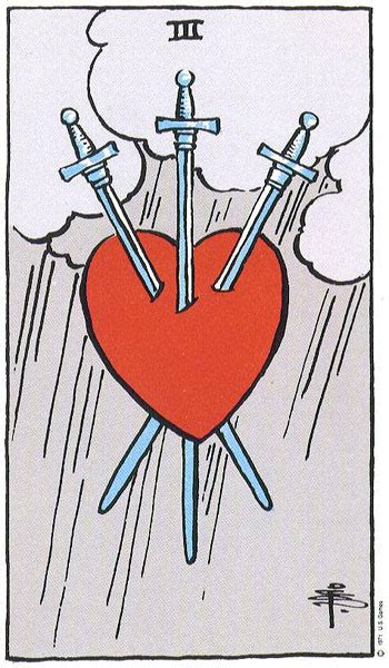 Three of Swords Thoth Tarot Card Tutorial - Esoteric Meanings