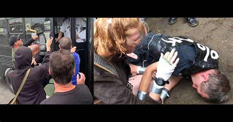 Portland: Antifa Rioters Attack Right-Wingers With Hammers, Beat Man Unconscious, Spray People ...