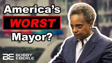 Lori Lightfoot: America's Worst Mayor? Lightfoot calls ...