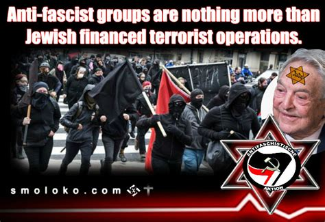 Antifa and White Liberals are stupid tools of the Jews ...