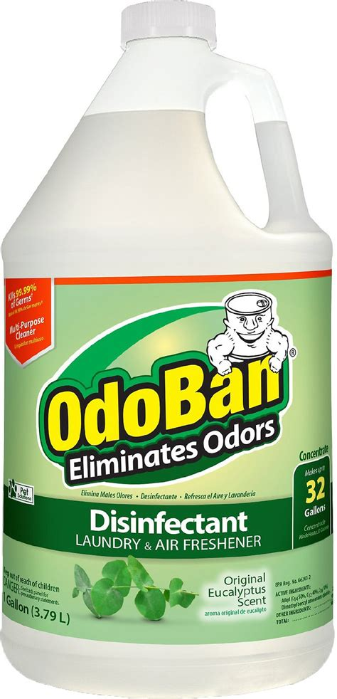 OdoBan Disinfectant Laundry & Air Freshener Concentrate ...