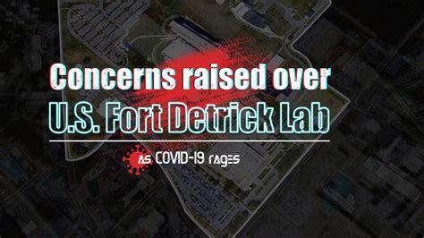 Concerns raised over U.S. Fort Detrick Lab as COVID-19 ...