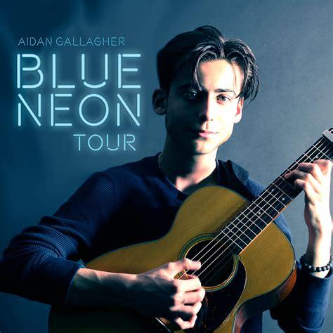 Aidan Gallagher in Concert: Blue Neon Tour, Dallas   Art ...