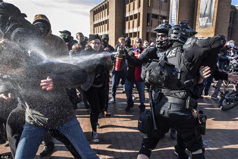 "Cops Arrest Antifa Faggots for Protesting ""Patriot Prayer"" Group – Daily Stormer"