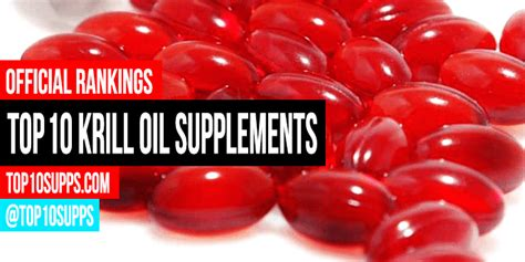 Best Krill Oil Supplements - Top 10 for 2017 Reviewed