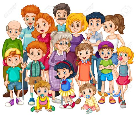Picture Of Family Clipart – 101 Clip Art
