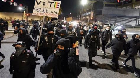 Victim of Antifa riots on Kevin Peterson riots