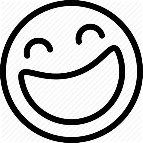 smiley emoticons laughing | Stiker